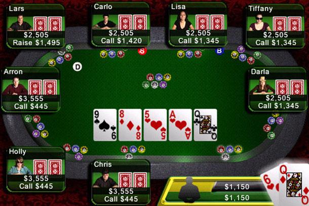 online poker texas holdem cash
