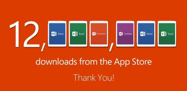 microsoft-office-for-ipad-hits-12m-downloads-after-a-week-0